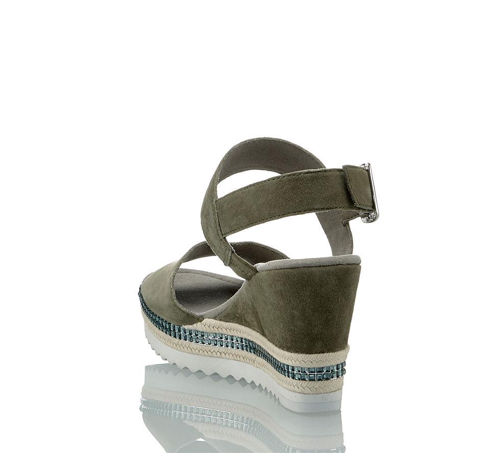 Hohe Günstig Corner Gabor Damen In Kaufen Sandalette Von Im Olive 0E0qxAn4