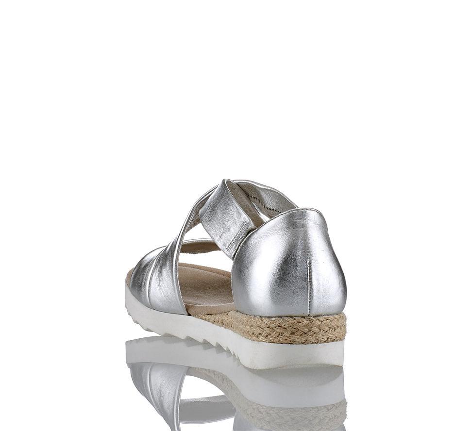 Von Damen Sandalette Silber Gabor Günstig Kaufen Rhodos Im In Flache WwaBnxTpq