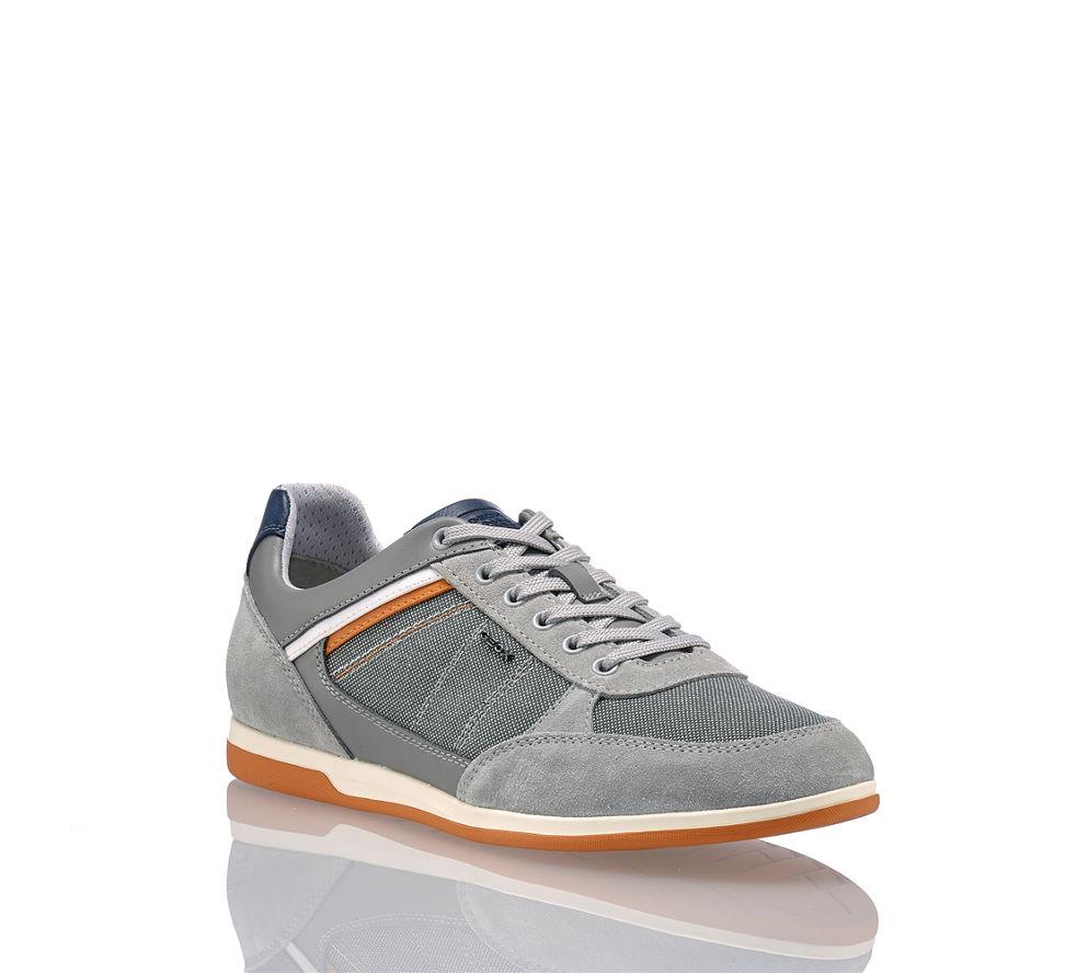 Geox U Renan B Herren Sneaker in grau von Geox günstig im Online ... e030fd2dae