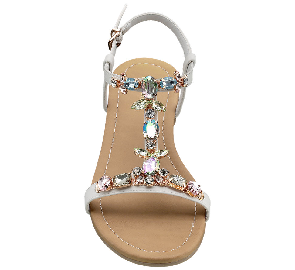 Graceland Jewelled Sandals. 2; 2; 3. This article has been rated 6 times