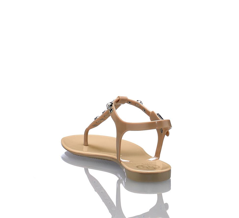 Guess Günstig Kaufen Damen Sandalette Nude Im In Flache Janaye Von fxfFnwgBrP