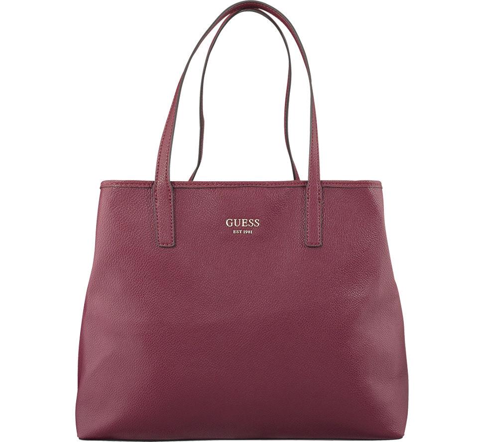1ce2dde329b99 Guess Vikky Damen Shopper in bordeaux von Guess günstig im Online ...