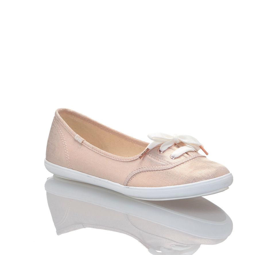 Keds Kaufen In Günstig Teacup Von Damen Sneaker Im Metallic Linen Rosegold rqrwSvCc