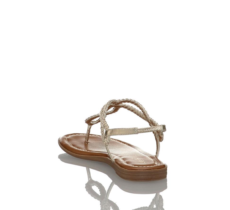 In Im Damen Günstig Limelight Kaufen Sandalette Flache Von Gold FStwSq0xT