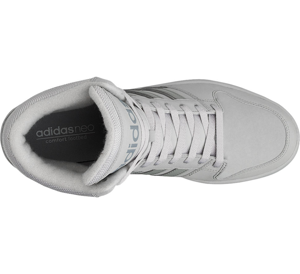 detailed images quality design new lifestyle adidas neo label mid cut grau