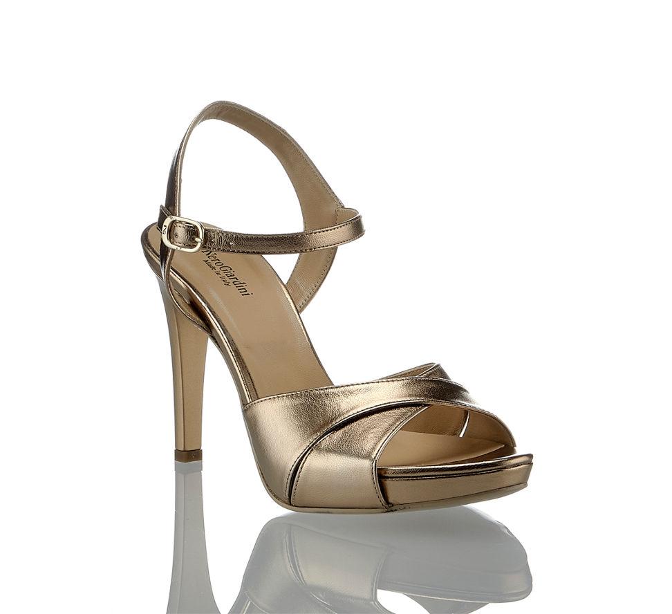Kaufen Glamour In Hohe Gold Damen Nerogiardini Sandalette Nero Im Günstig Giardini Von qwfdI1PWn