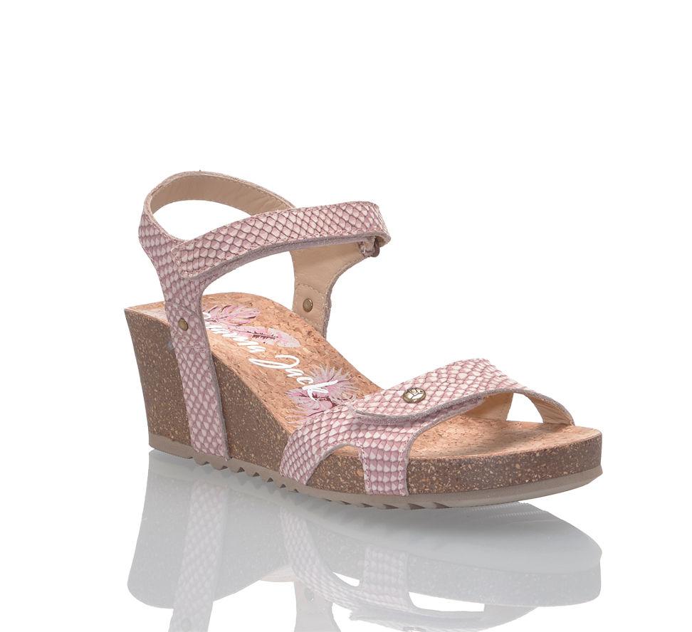 76cdfeb7dd50b1 Panama Jack Julia Damen Hohe Sandalette in pink von Panama Jack ...