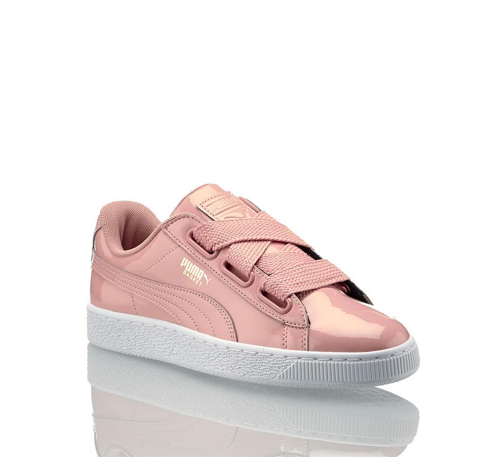Puma Sneaker Kaufen Im In Beige Damen Basket Von Günstig Heart Patent IxwqfIr