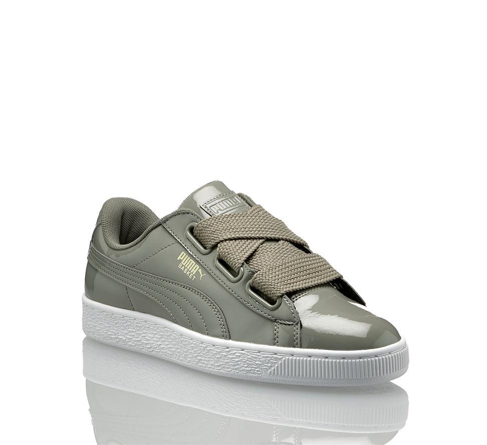 Im Grau Von Kaufen Basket In Damen Patent Günstig Sneaker Puma Heart T7wAqUnC