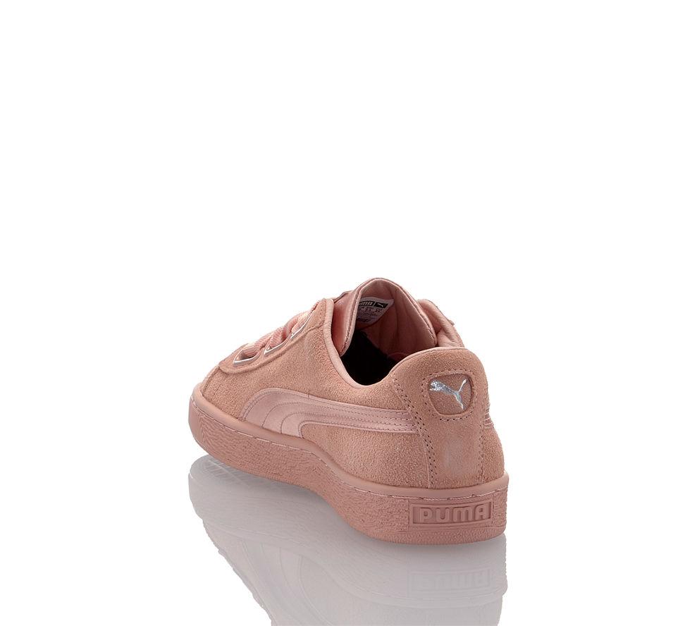 Damen Beige Suede Puma Heart Sneaker In Ep Günstig Kaufen Von Im xtY4S
