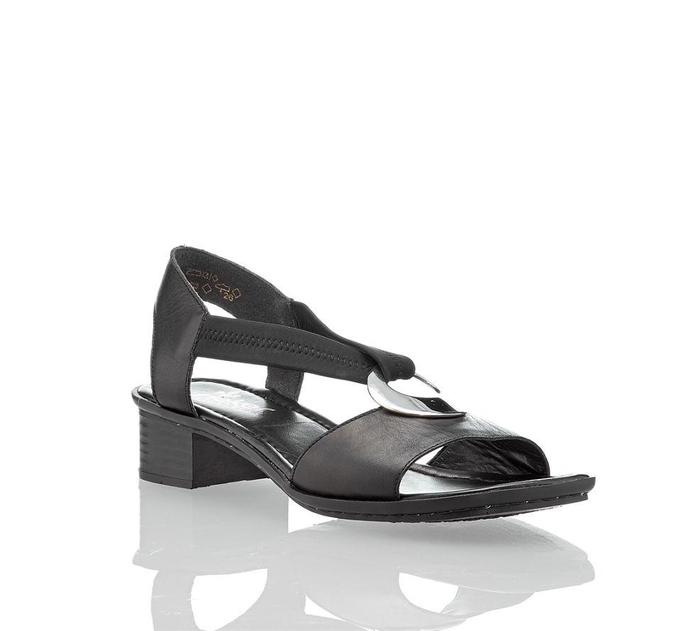 Victoria Shop Sandale Online Rieker Schwarz Im Damen Kaufen In Von TaAdpwq