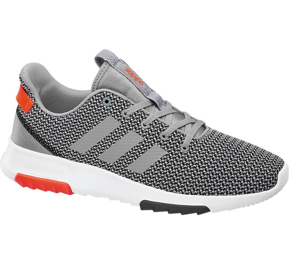 casual shoes innovative design good selling adidas neo Cloudfoam Racer TR Sneaker für Herren Grau