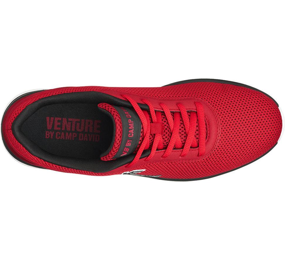 sneaker von venture by camp david in rot. Black Bedroom Furniture Sets. Home Design Ideas