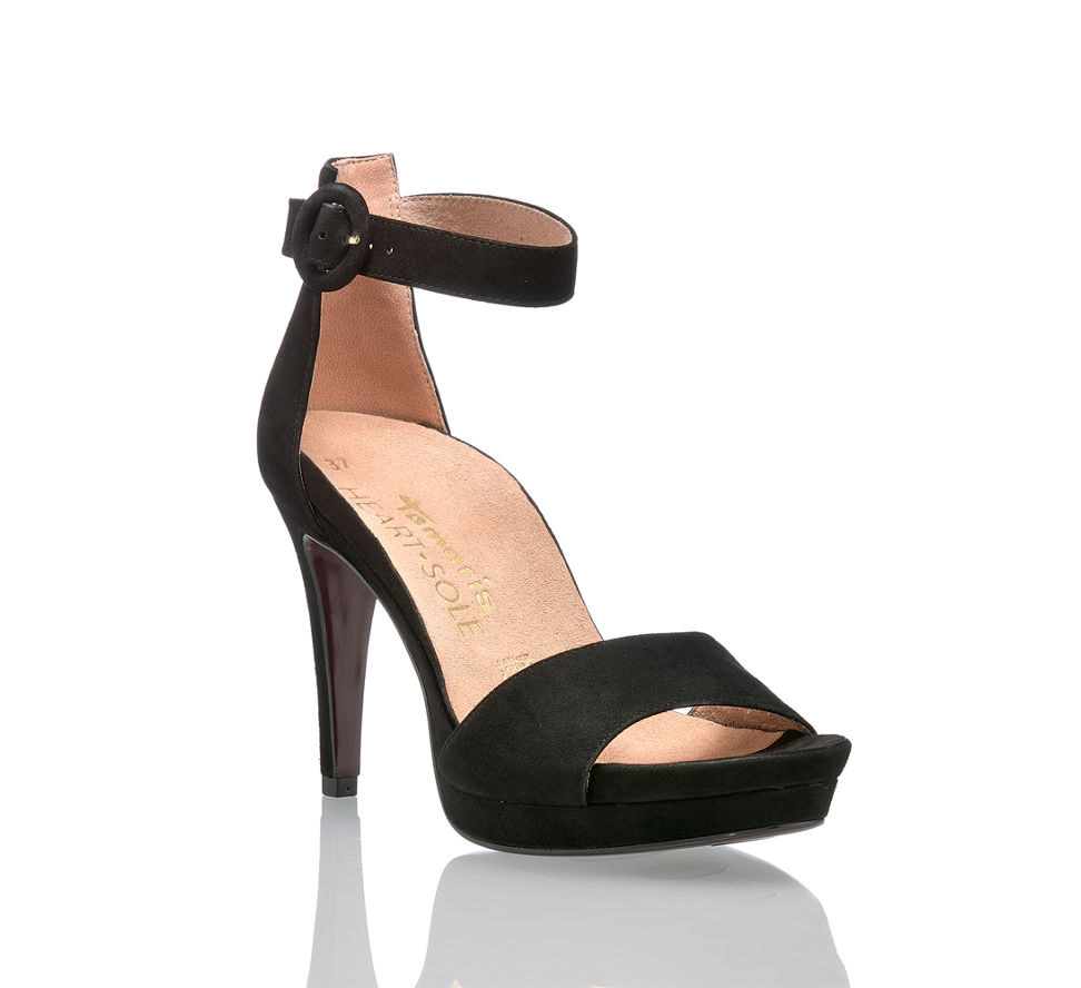 Sandalette Günstig Hohe Schwarz Kaufen In Damen Veronique Tamaris Von Im f0H70