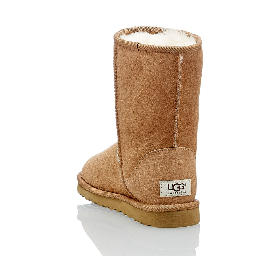 ugg classic short damen boot in cognac von ugg im online shop kaufen. Black Bedroom Furniture Sets. Home Design Ideas