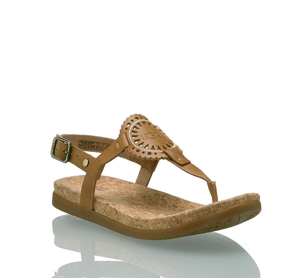 Damen Sandalette Im Ayden Von Günstig Ugg Flache Kaufen In Braun ft5xpwqp