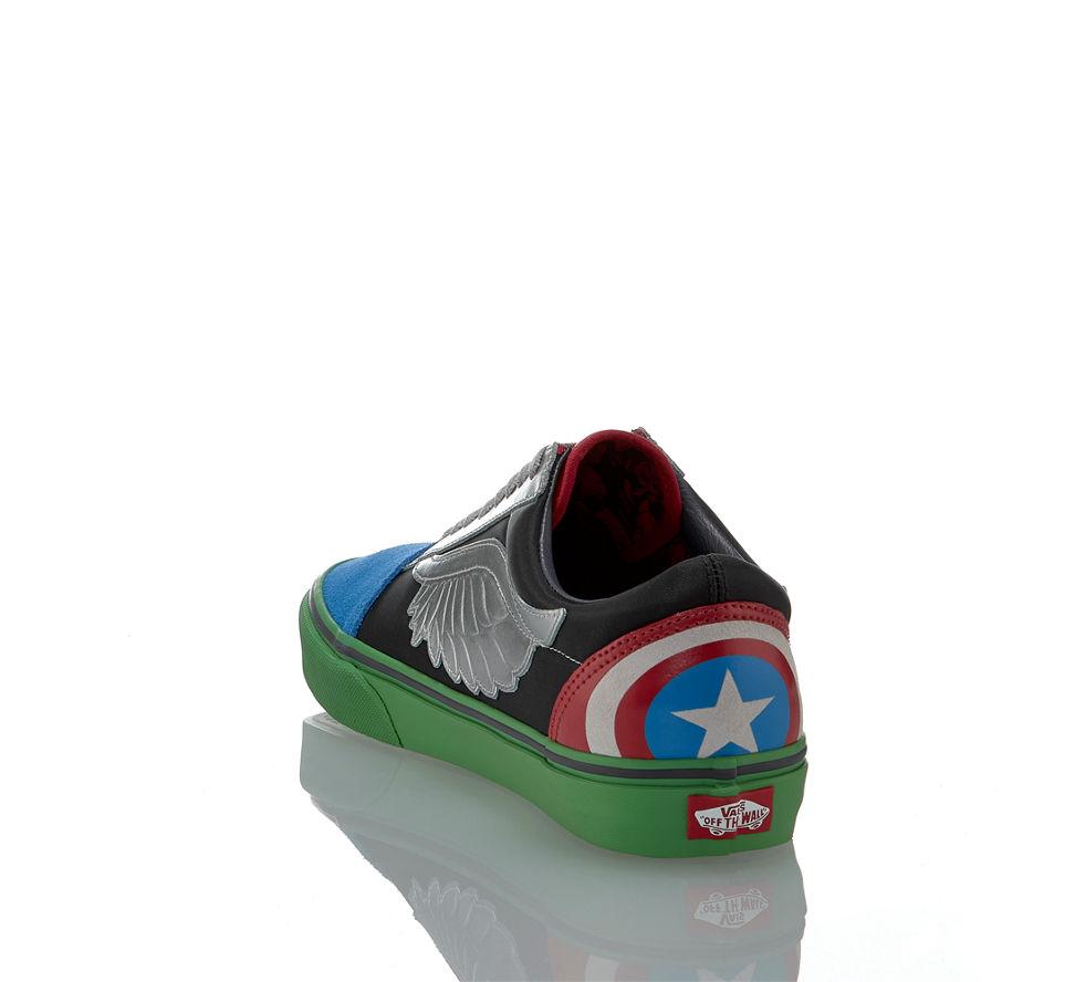 Multicolor Avengers Im Old Vans Sneaker Damen Günstig In Von Marvel Skool Schwarz Kaufen qpntw0S