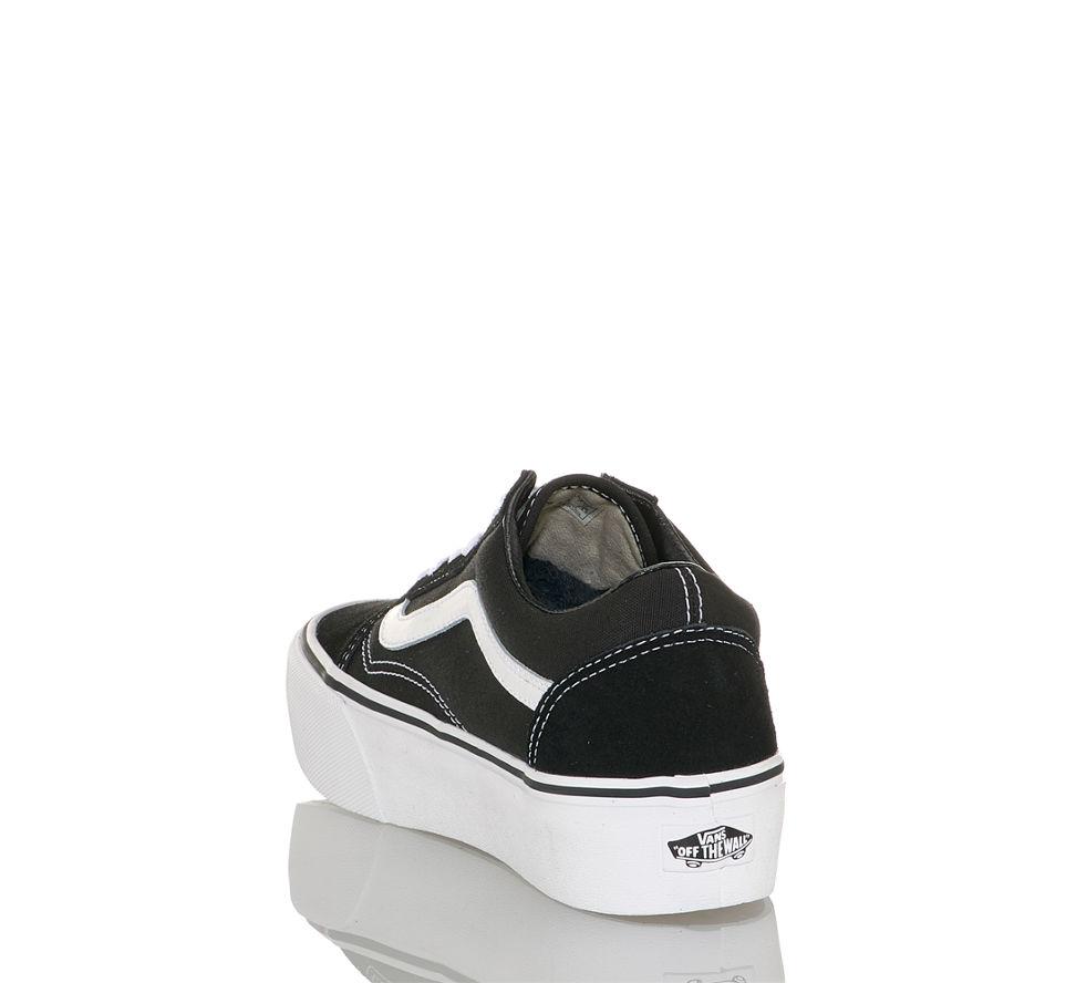 cd3bb644d3 Vans Old Skool Platform Damen Sneaker in schwarz-weiß von Vans ...