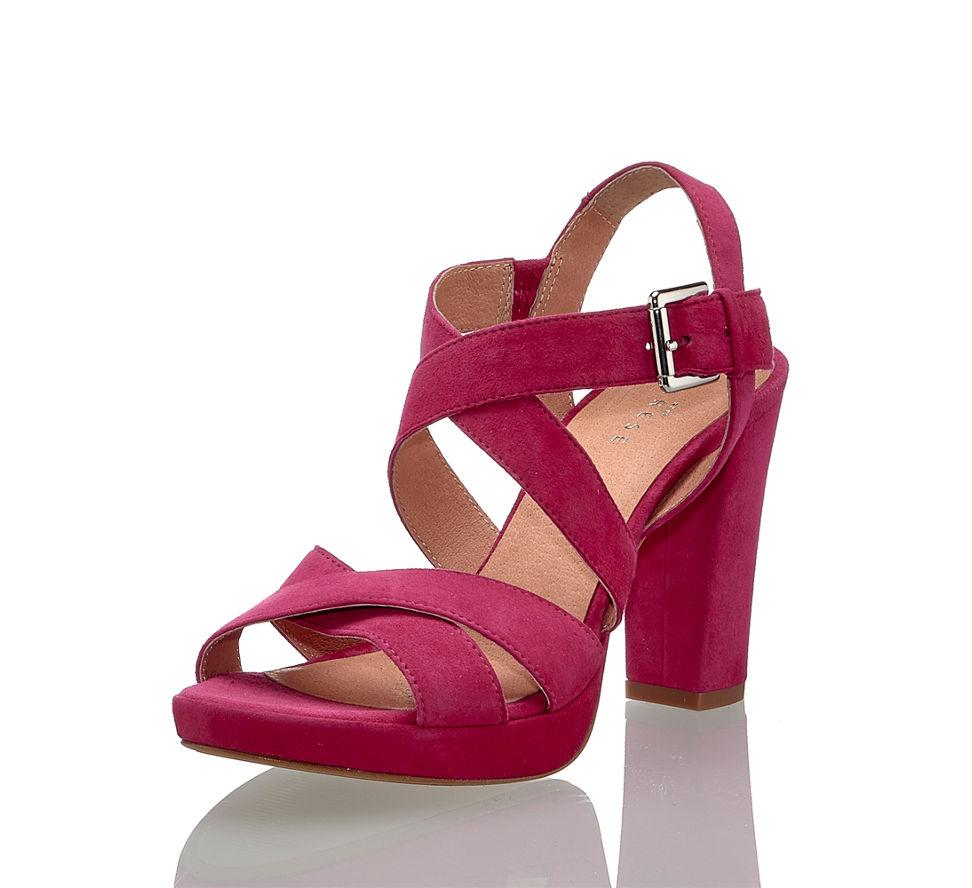 Günstig In Kaufen Von Pink Sandalette Damen Im Varese Hohe qaPTAFF