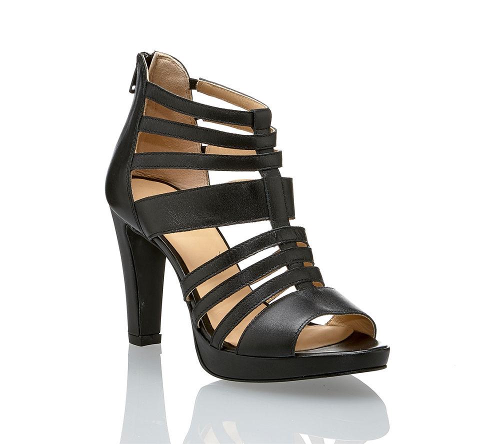 Günstig Damen Sandalette Von In Schwarz Varese Im Hohe Kaufen YqOwFx4