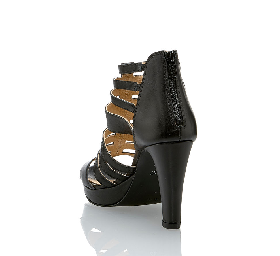 In Im Damen Günstig Sandalette Von Varese Schwarz Kaufen Hohe 6vtFqwRx0