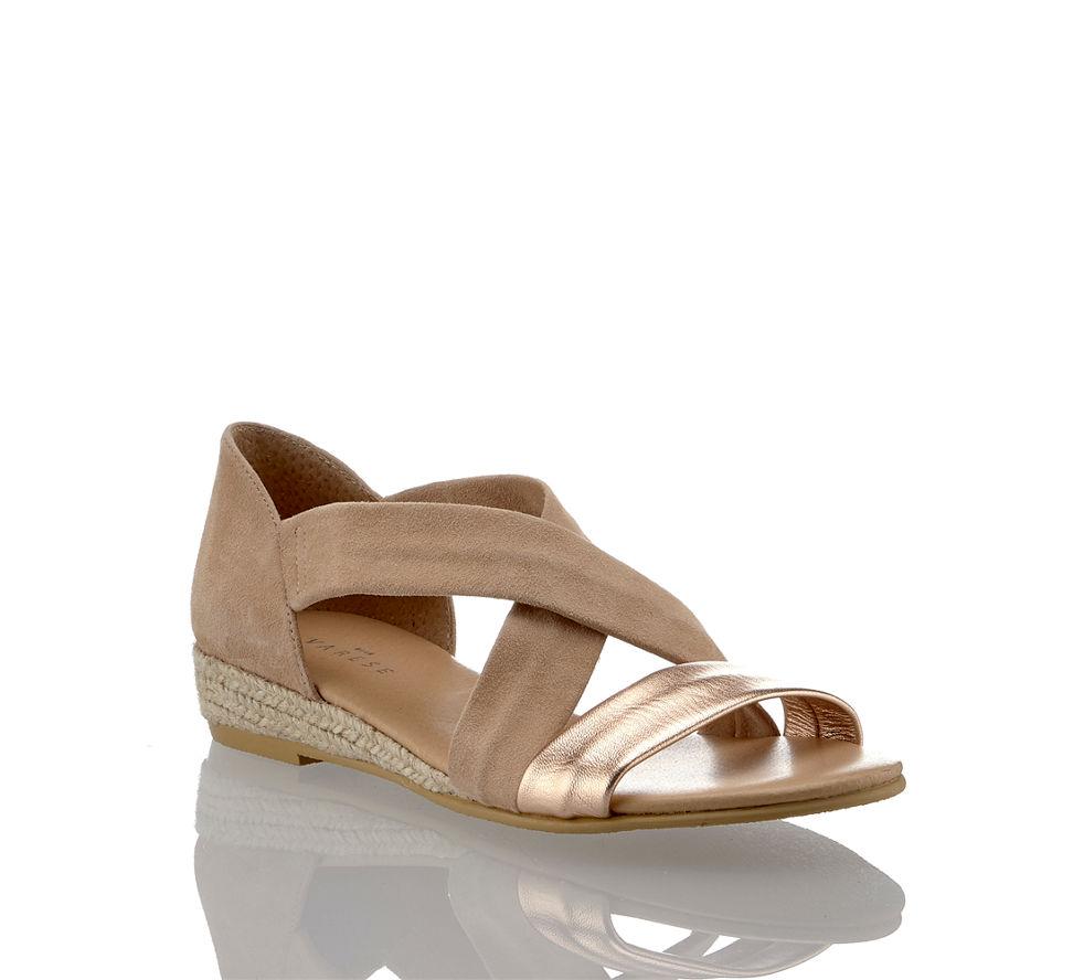 Varese Kaufen Isabella In Damen Sandalette Rosa Flache Im Von Günstig zAzq6rw