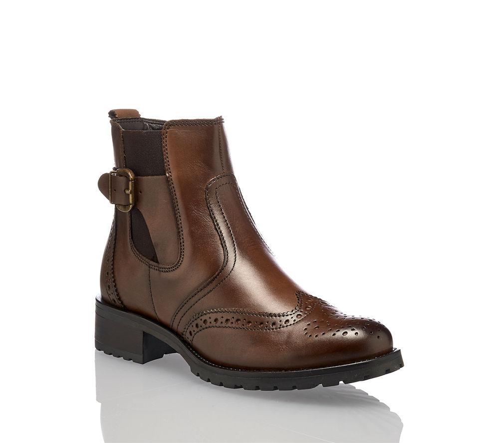 Günstig Kaufen In Braun Damen Boot Von Chelsea Oxana Varese Im 0qXzw