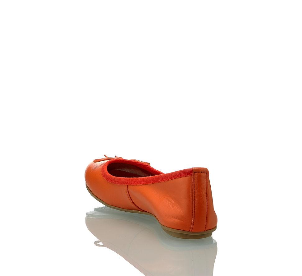 purchase cheap be746 eb771 Varese Vera Damen Ballerina Orange in orange von Varese ...