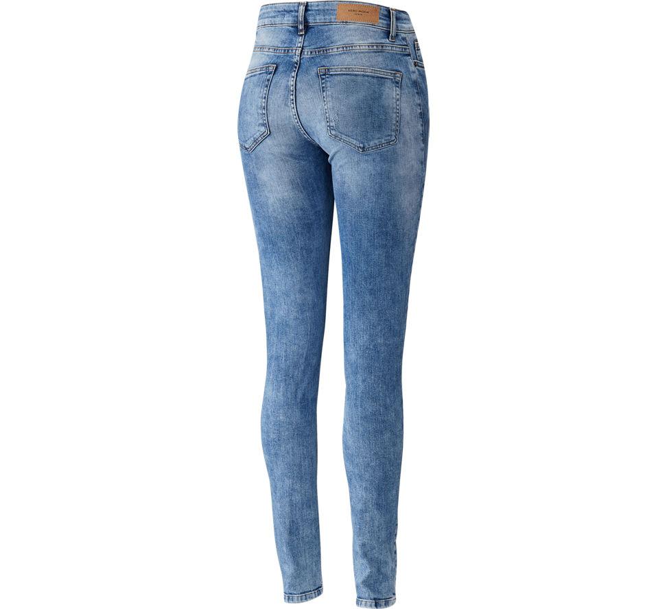 vero moda jeans damen in denim von vero moda g nstig im. Black Bedroom Furniture Sets. Home Design Ideas