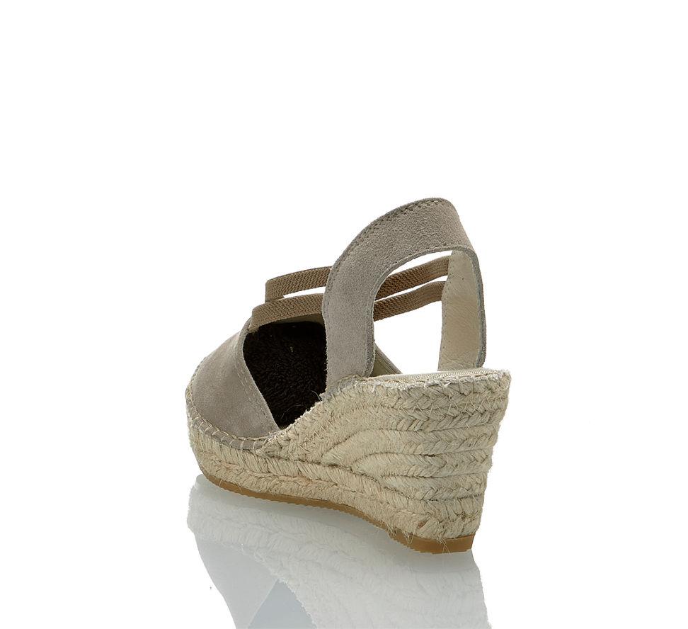 Taupe Couchtische Online Kaufen: Vidorreta Damen Hohe Sandalette In Taupe Von Vidorreta