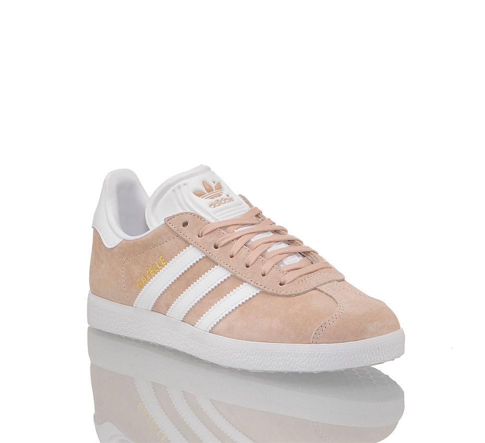 Günstig Adidas In Damen Im Rosa Weiß Kaufen Gazelle Originals Sneaker Von ww40paFq