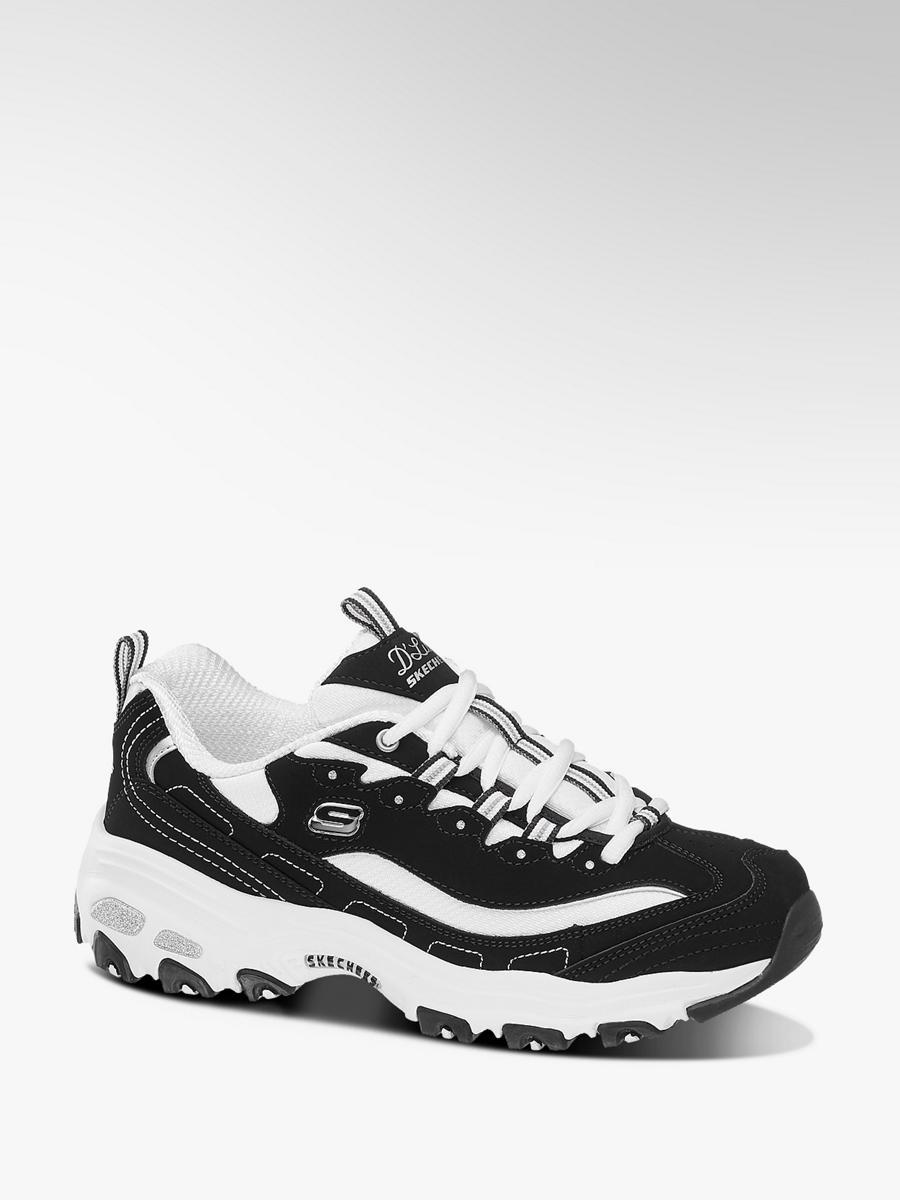 separation shoes 2cc7a 5ce7c Chunky Sneaker D'Lites von Skechers in schwarz - DEICHMANN