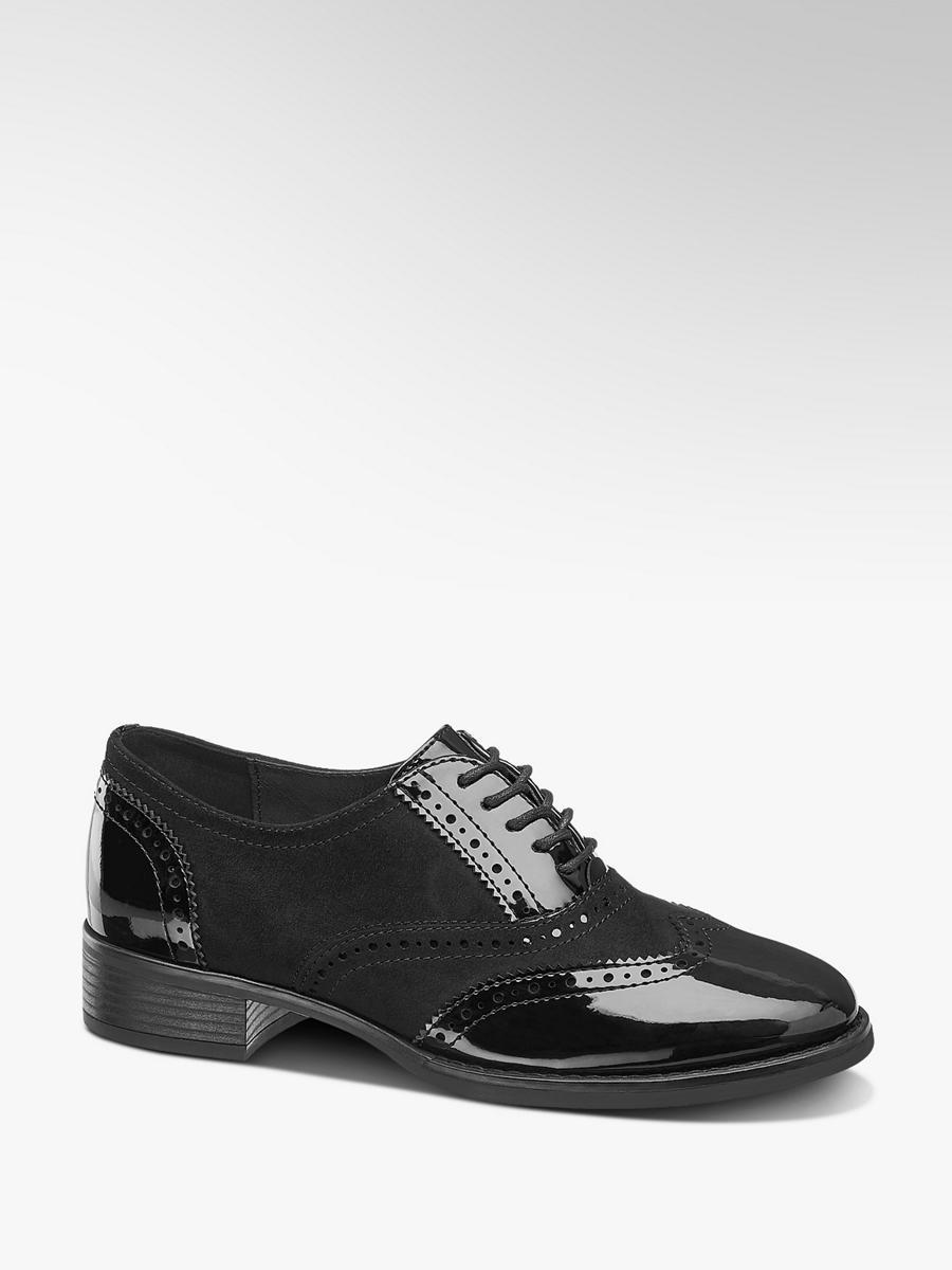 online store 7fd19 1c583 Damen Schnürschuh in schwarz von Graceland günstig im Online ...