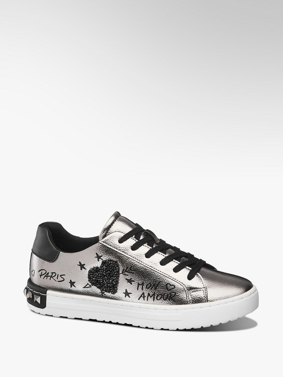 fe9ced1300 Damen Sneaker in silber von Graceland günstig im Online-Shop kaufen