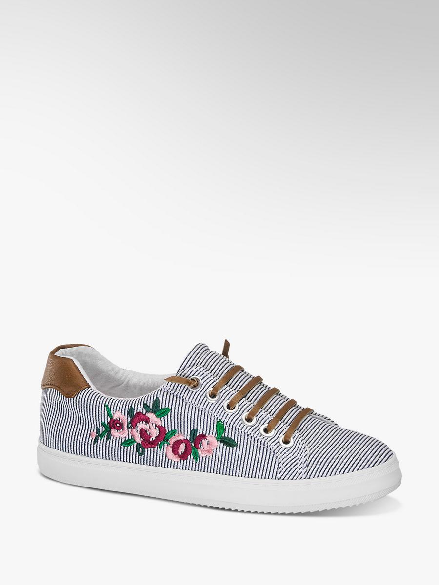 c45b182b3d8521 Damen Sneaker in weiß-blau von Graceland günstig im Online-Shop kaufen