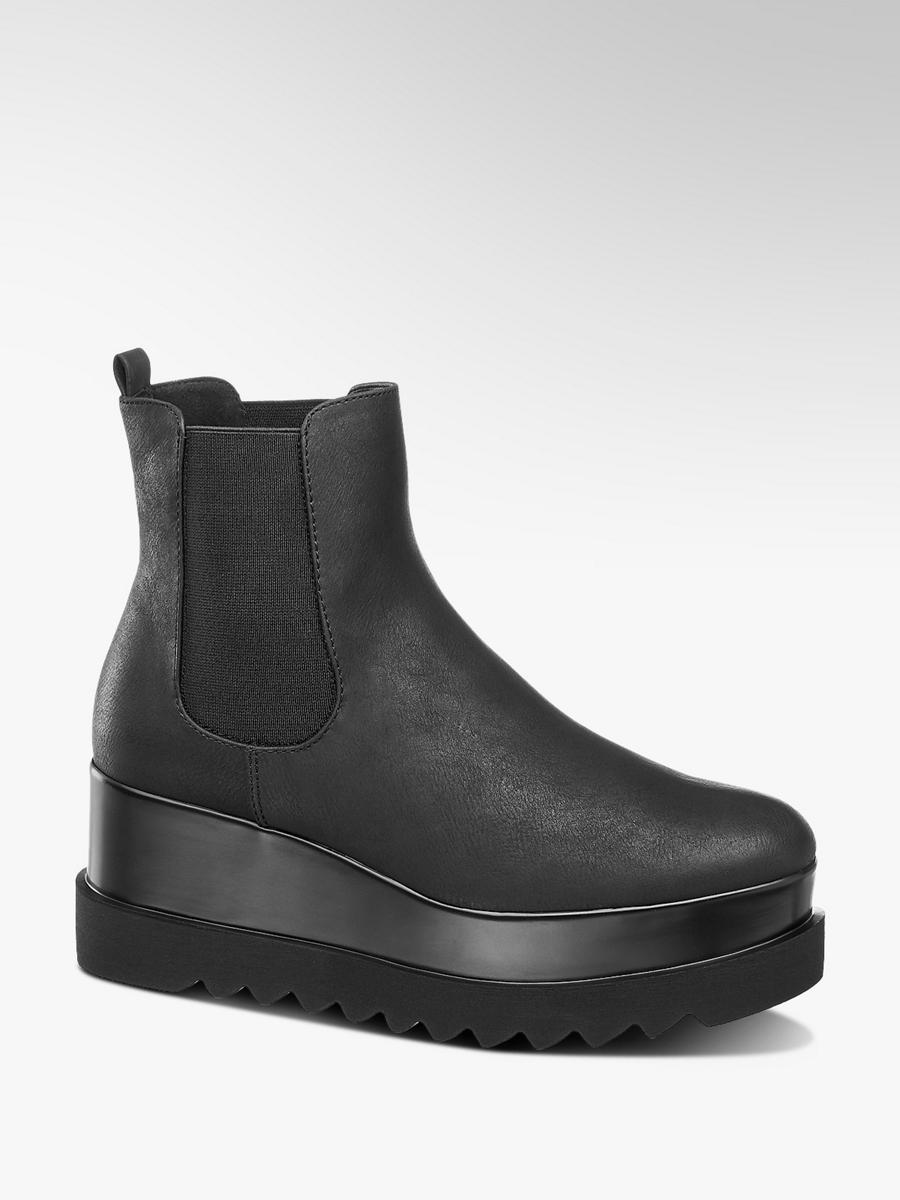 Kotníková obuv Chelsea na platformě značky Graceland v barvě černá ... 271b358bad