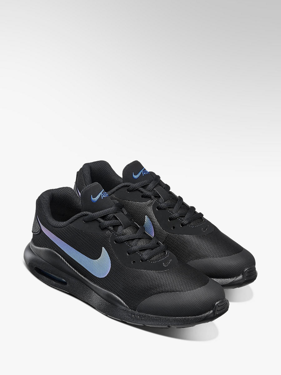Nike Air Max Lace Up Trainers Black Blue | Deichmann