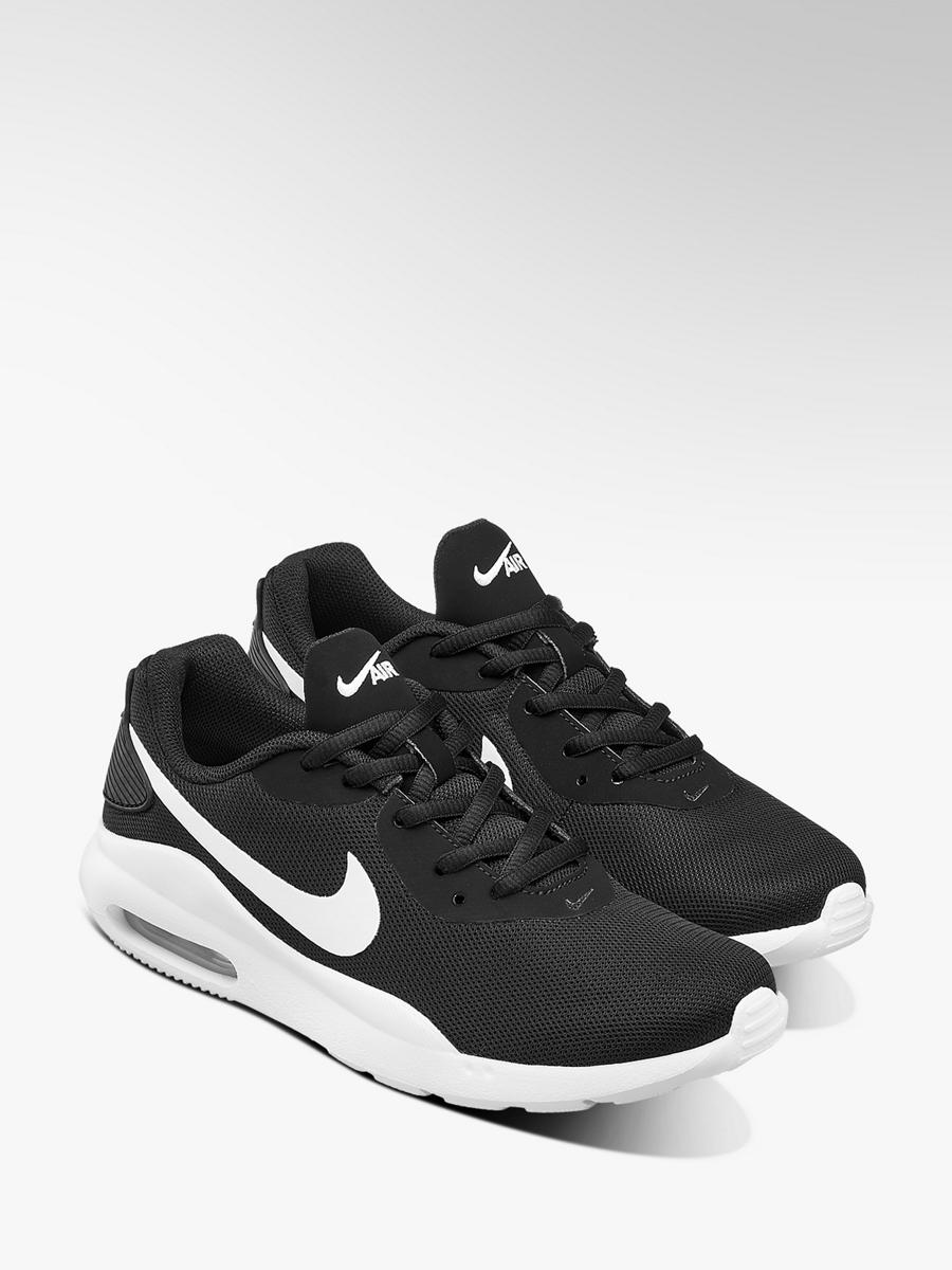 Nike Air Max Lace Up Trainers Black White | Deichmann