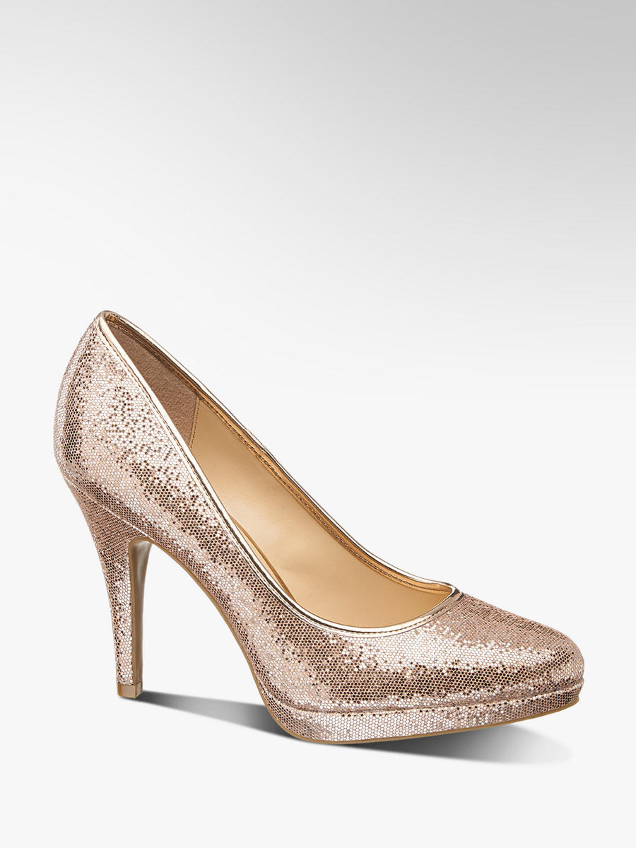 Von Pumps Deichmann Catwalk In Gold IfvY67gyb