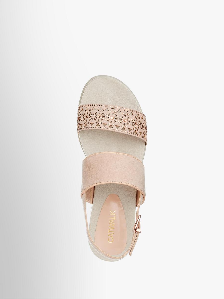 Catwalk Damen Sandale rosa Neu