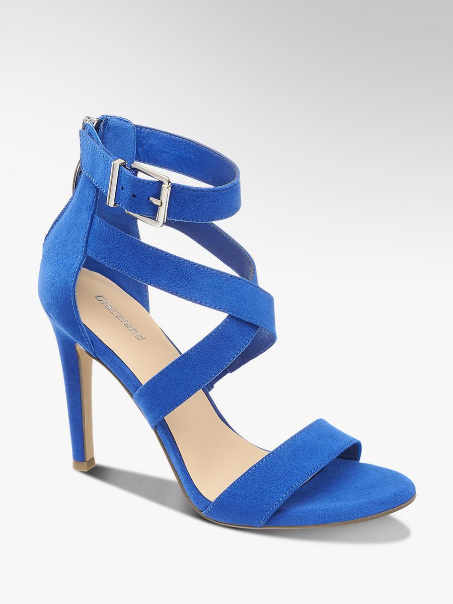 Sandalette von Graceland in blau - DEICHMANN 7736c20f96