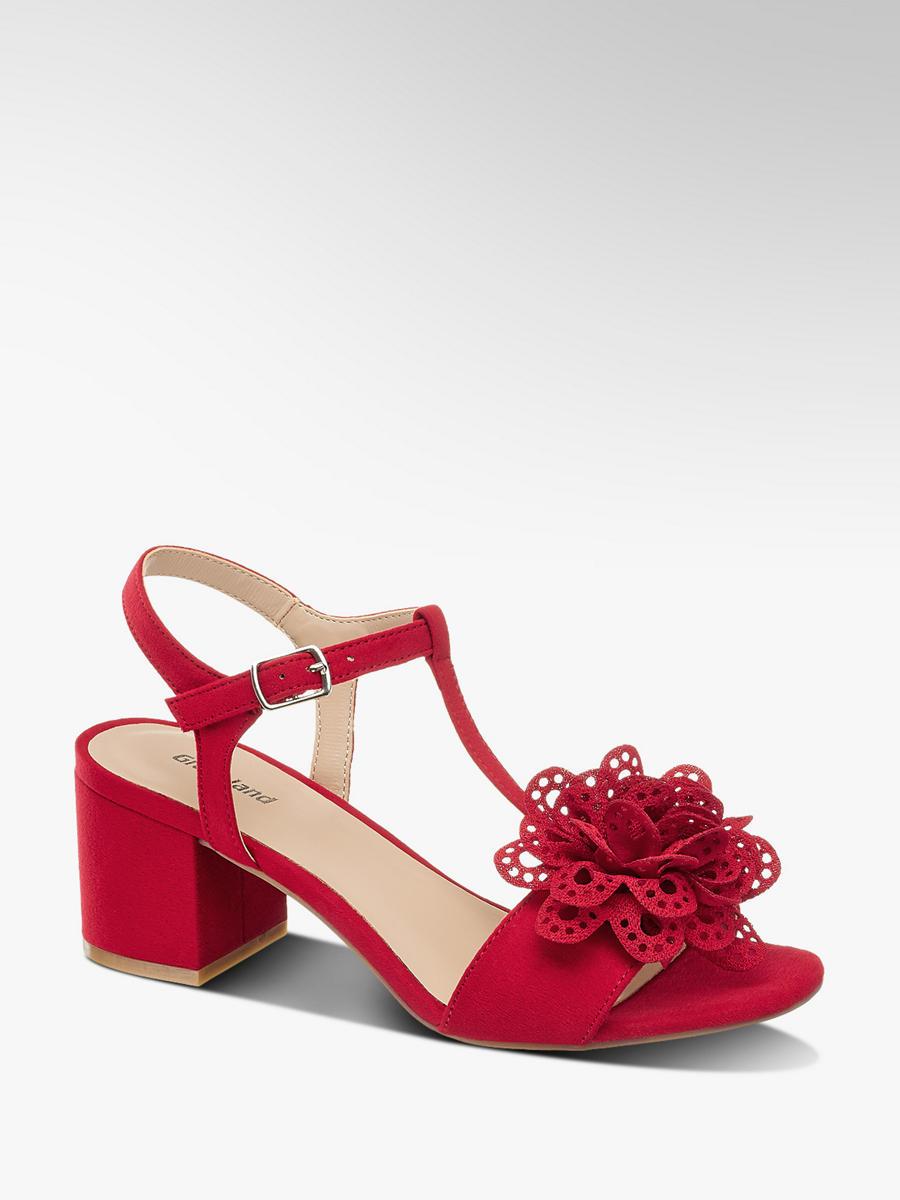 Sandalette von Graceland in rot - DEICHMANN 8c3a149e6f