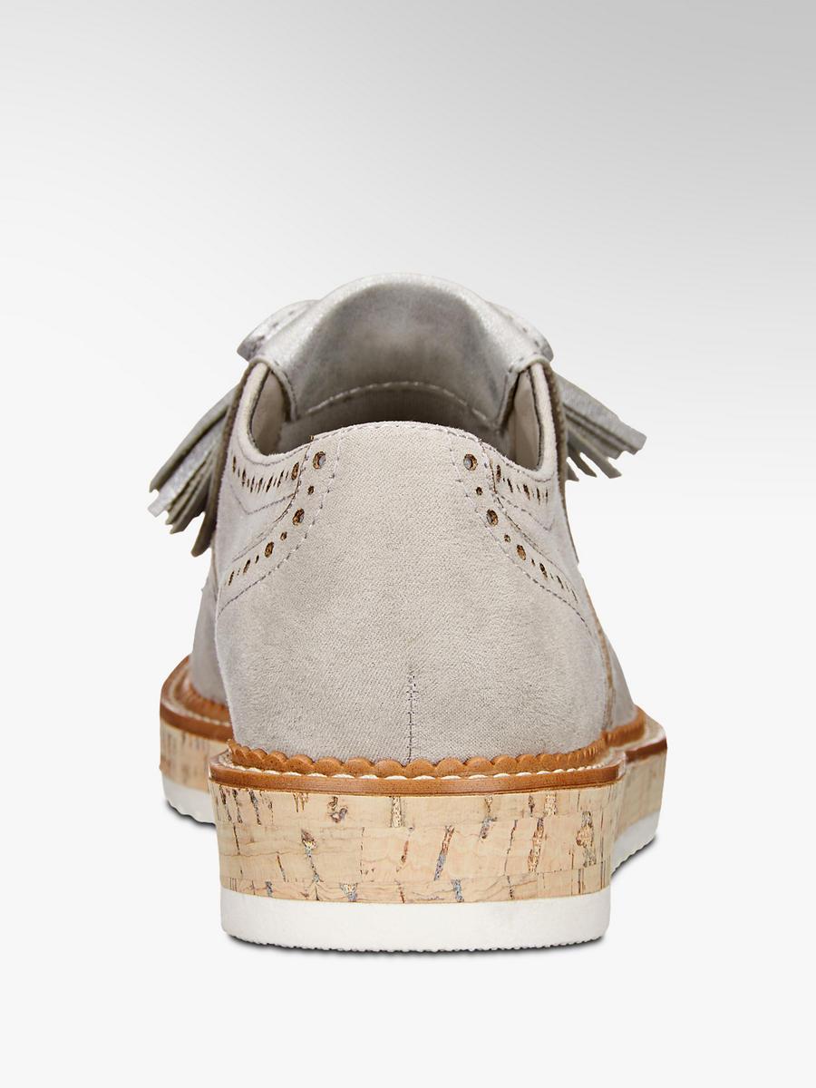 Slip-on obuv na platforme značky Graceland vo farbe sivá - deichmann.com d52a145cc0