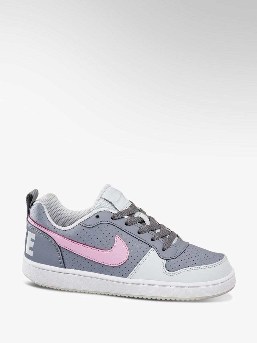 Sneaker Court Borough Low (PSV) Pre School von NIKE in grau