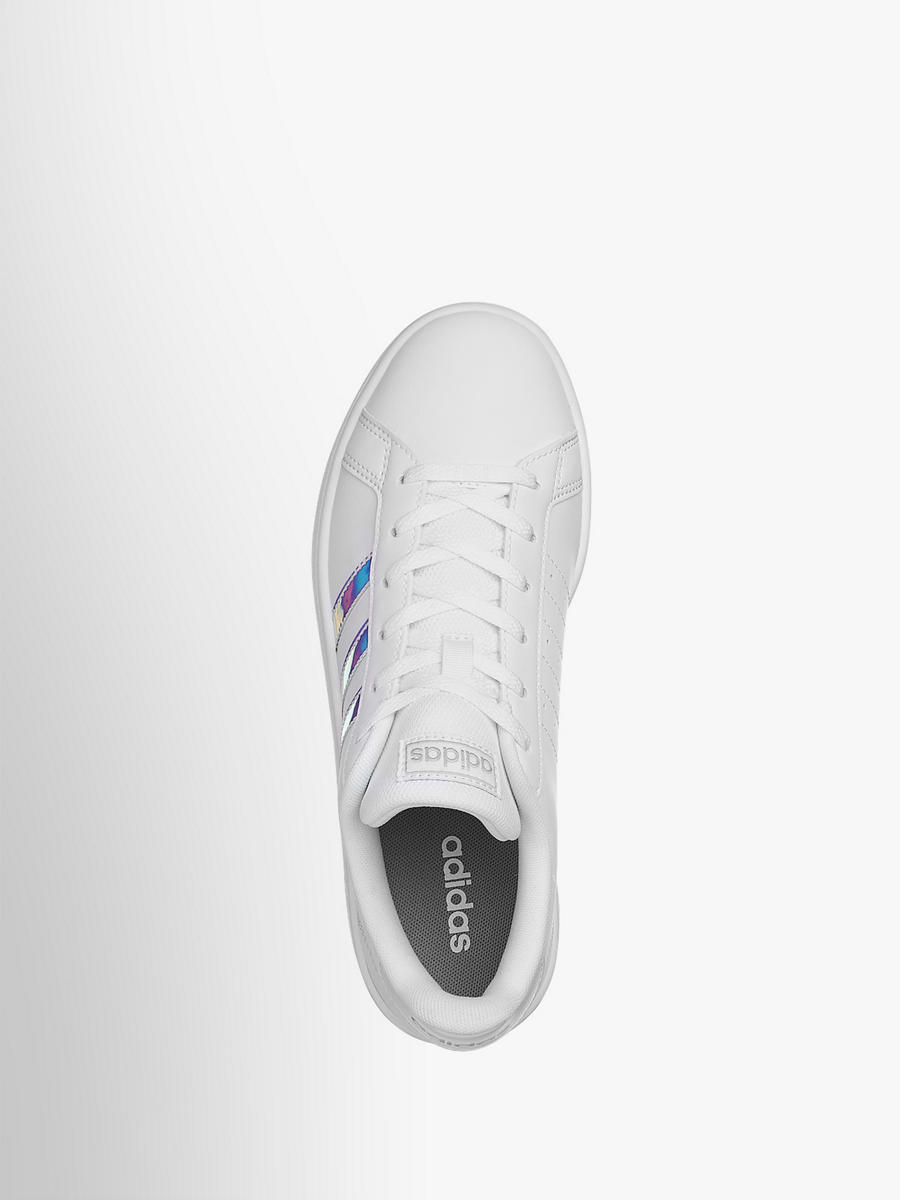 Sneaker GRAND COURT BASE SHINY HOLOGRAPHIC von adidas in ...