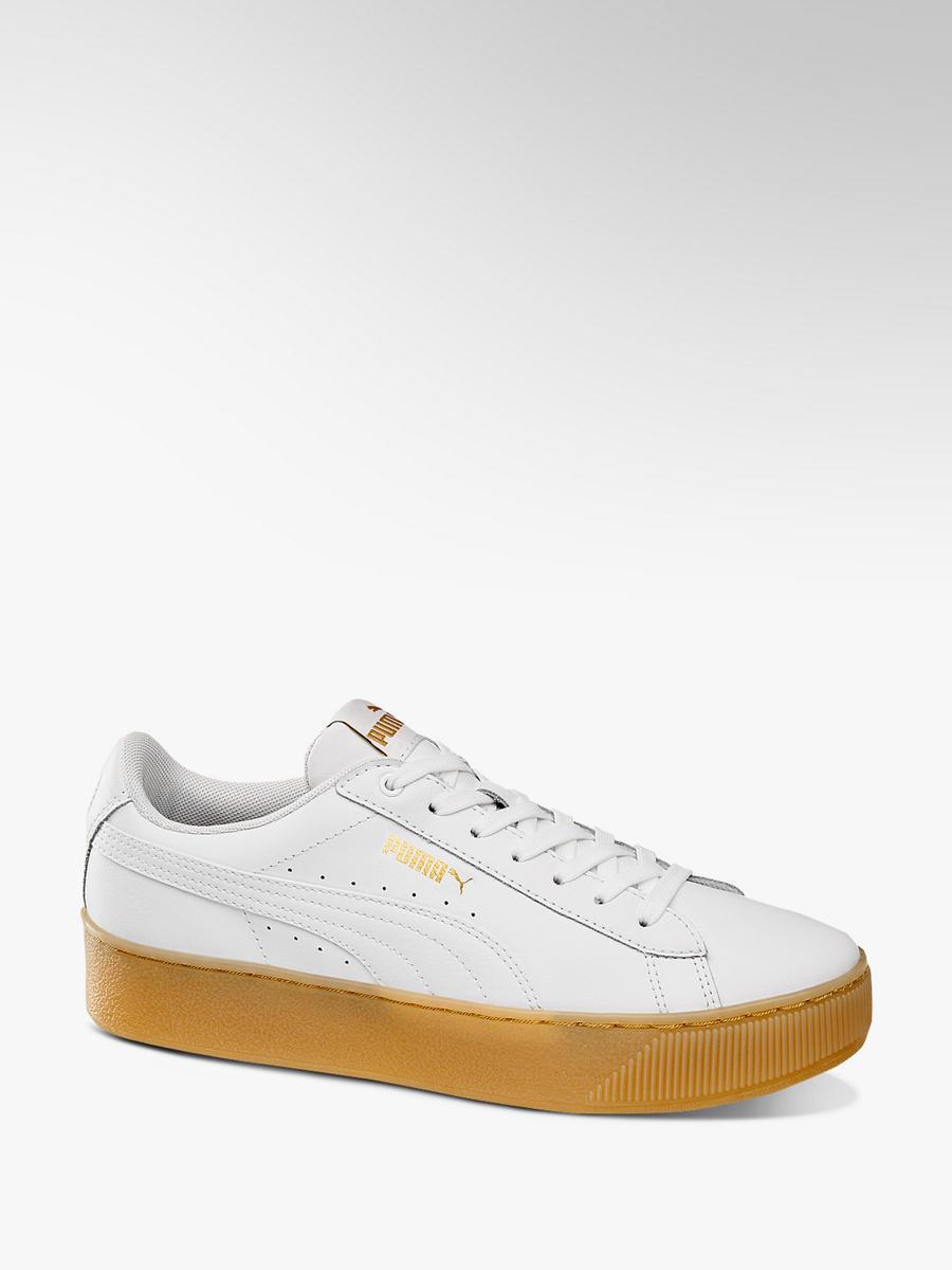 Sneaker VIKKY PLATFORM CORE von Puma in weiß - DEICHMANN 2f49e99547