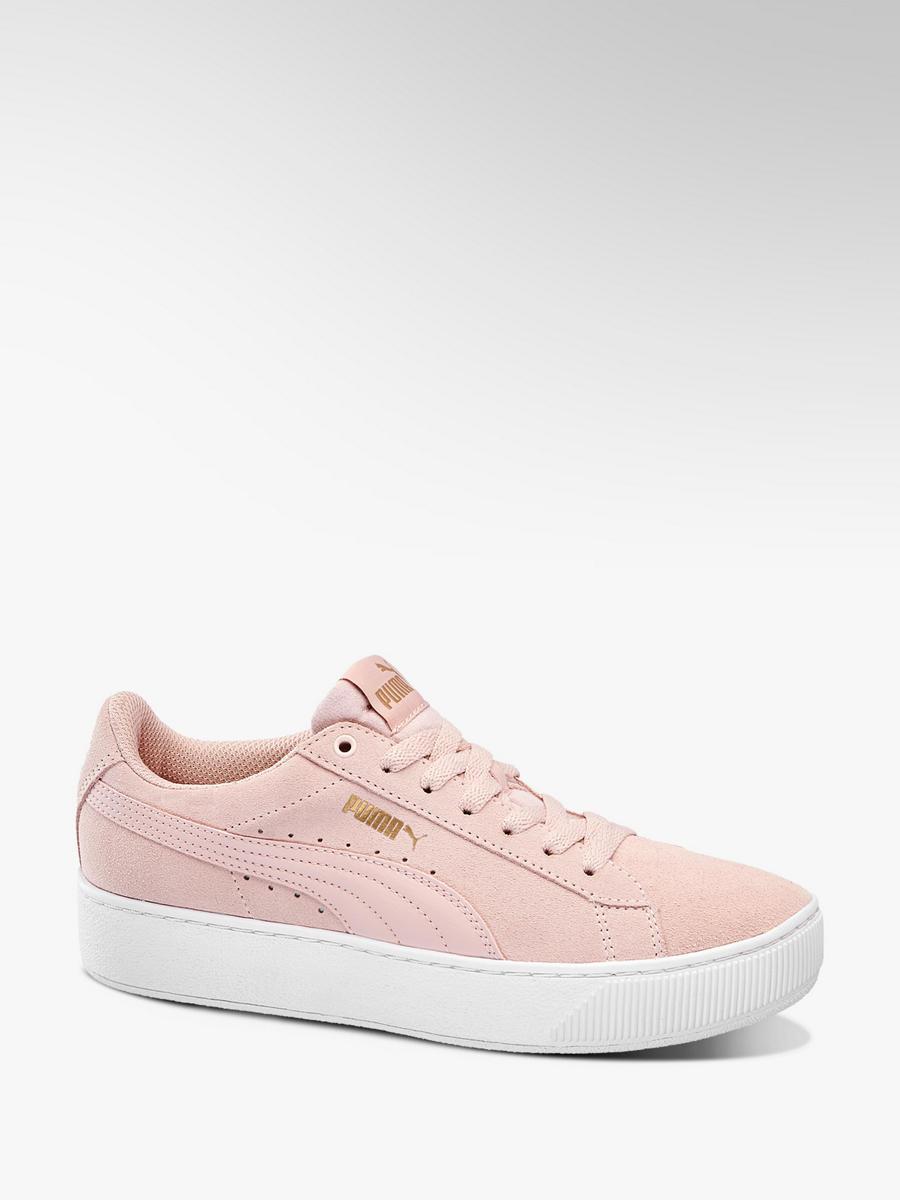 new york 89d6c 0efec Sneaker VIKKY PLATFORM von Puma in rosa - DEICHMANN