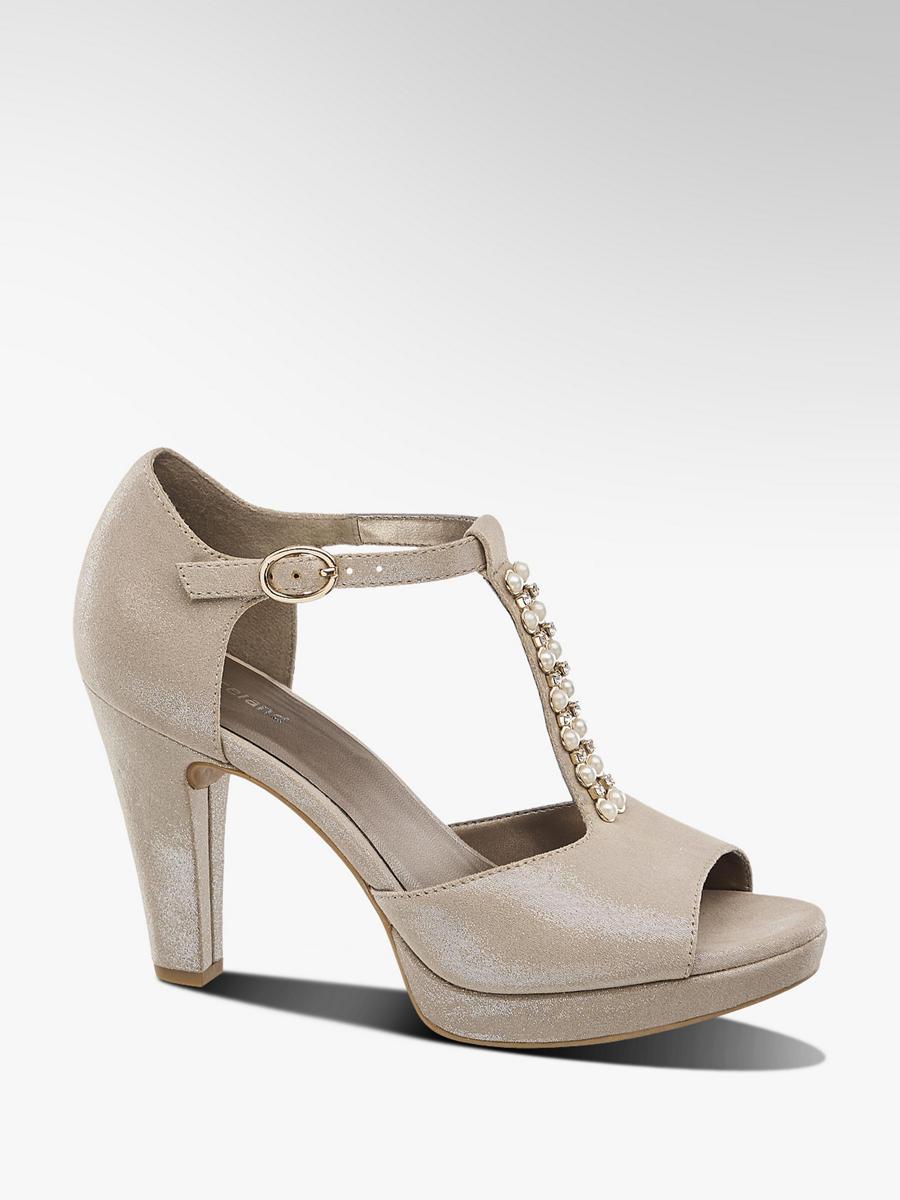 173f5f835450 Spoločenské sandále značky Graceland vo farbe zlatá - deichmann.com