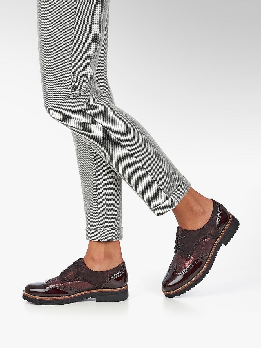 Graceland Deichmann Estilo Burdeos Zapato Oxford F8pwT 04dda27a09ad3