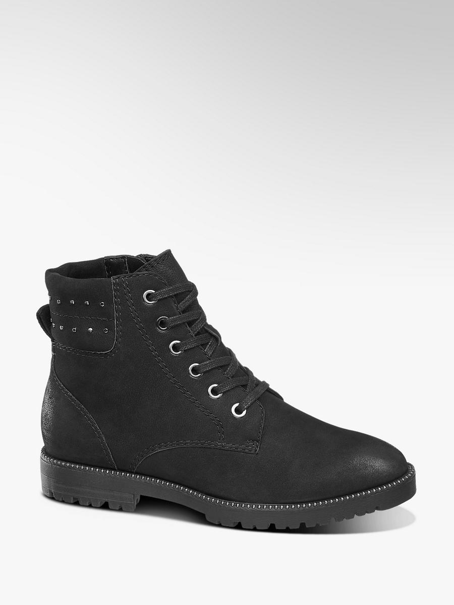 aa8e58fc93 Zimná obuv so šnurovaním značky 5th Avenue vo farbe čierna - deichmann.com